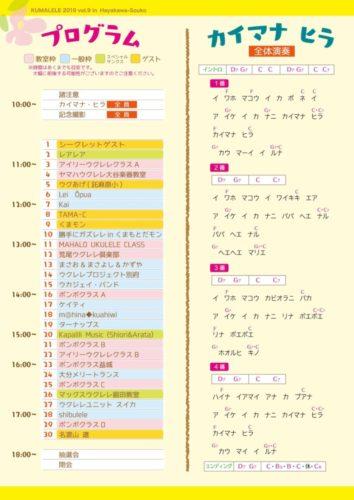 プログラム2ページ